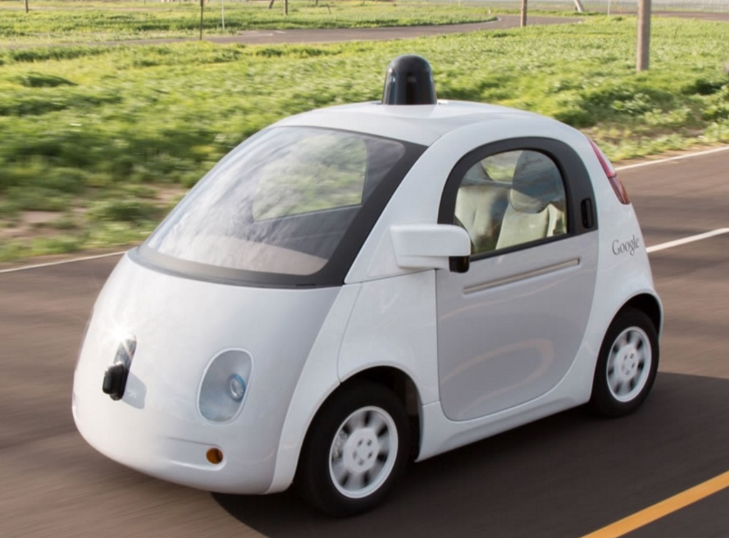 image from Google Self-Driving Car Project