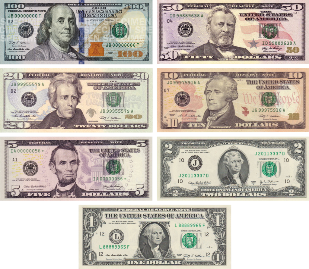 US notes